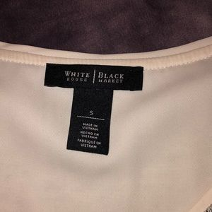 White House Black Market Tops - White House black market long sleeve